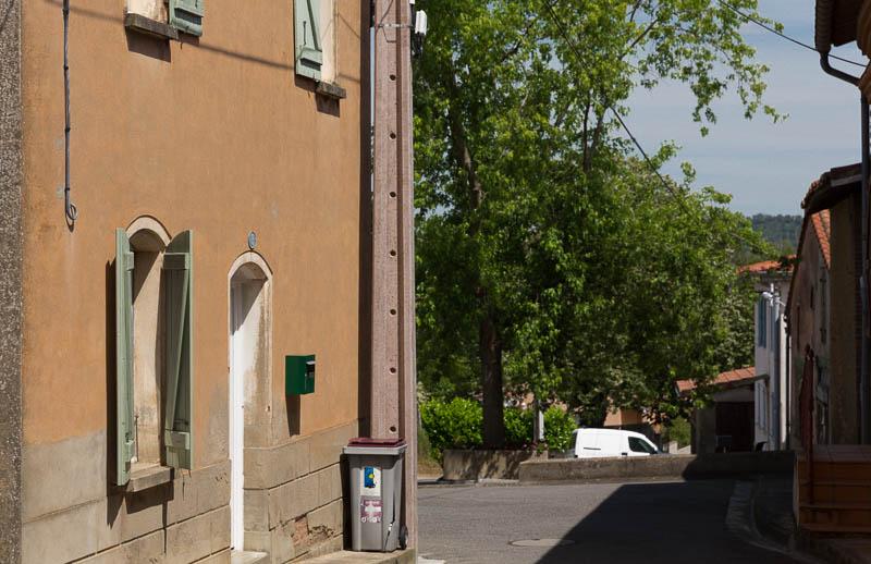Vue de la maison depuis la ruelle